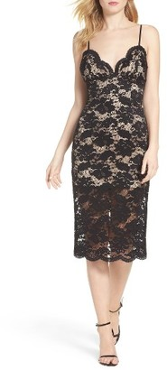Women's Bardot Floral Lace Slipdress $109 thestylecure.com