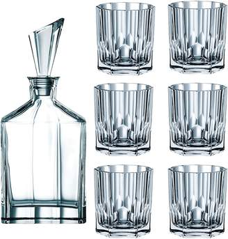 Nachtmann Aspen 7-Piece Whisky Decanter & Tumbler Set