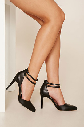 FOREVER 21+ Ankle Strap Stilettos $24.90 thestylecure.com