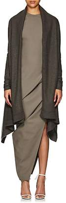 Rick Owens Women's Brushed Cashmere Wrap Cardigan - Dark Dust
