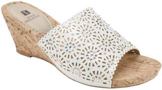 White Mountain Wedge Sandals - Adira