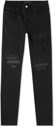 Amiri Leather Patch Jean