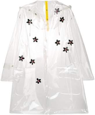 Moncler vinyl raincoat