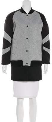 Rebecca Minkoff Tess Neoprene Coat