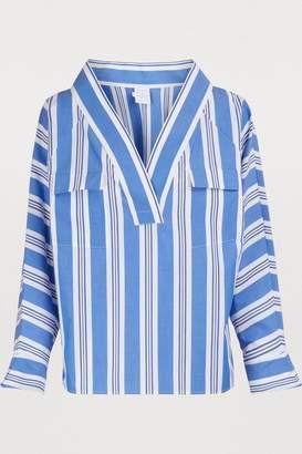 Stella Jean Striped cotton blouse