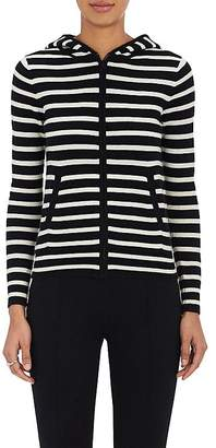 Lisa Perry WOMEN'S STRIPED CASHMERE HOODIE