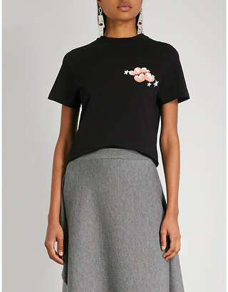 Loewe Cloud-print cotton-jersey T-shirt