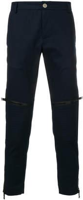 Les Hommes Urban zipped track pants