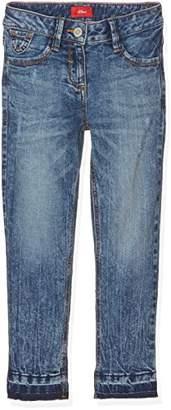 S'Oliver Girl's 66.703.72.5332 Jeans,(Slim)