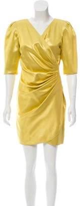 Ungaro Paris Pleated Mini Dress