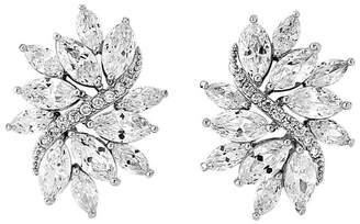 Carlisle Debbie Silver Vintage Crystal Wedding Earrings Nora