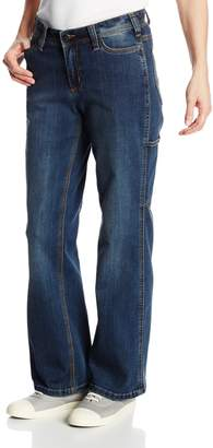 Carhartt Women's Original Short Fit Denim Evansville Dungaree,Authentic Indigo (Closeout)