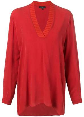 Antonelli plunge neck tunic top