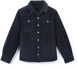 La Redoute Collections Velour Shirt 3-12 Years