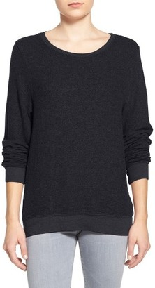 Women's Wildfox 'Baggy Beach Jumper' Pullover $66 thestylecure.com