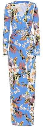 Diane von Furstenberg New Julian floral silk dress