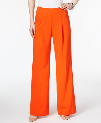 Inc International Concepts Pleated Wide-Leg Pants, Created for Macy's $69.50 thestylecure.com