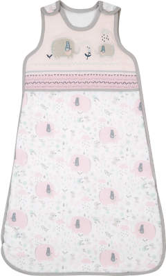 George Pink Elephant Print Sleep Bag 0-6 Months