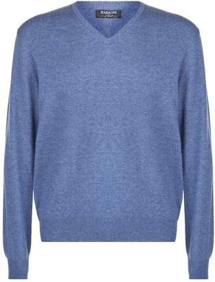 Harrods V-Neck Cashmere Sweater