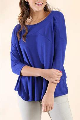 Umgee USA 3/4 Sleeve Top