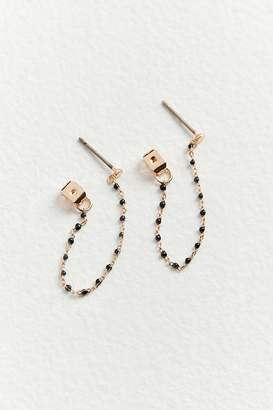 Urban Outfitters Carlie Beaded Front Back Earring