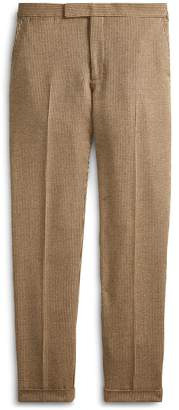 Ralph Lauren Polo Tick-Weave Suit Trouser