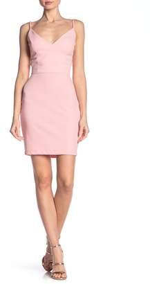 Jump V-Neck Cutout Side Dress