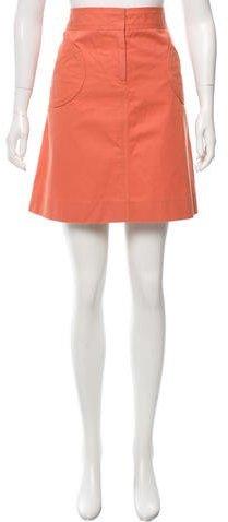 Marc JacobsMarc Jacobs Denim Knee-Length Skirt