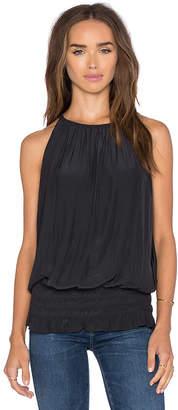 RAMY BROOK Sleeveless Lauren Top in Black $275 thestylecure.com