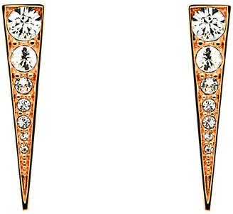 Melissa Odabash Swarovski Crystal Arrow Drop Earrings
