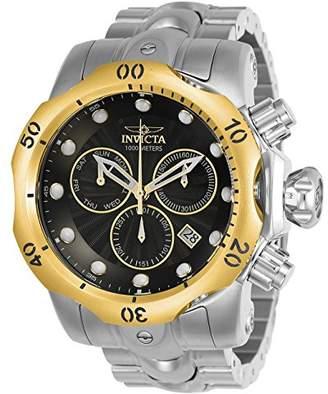 Invicta Men's 'Venom' Quartz Stainless Steel Watch