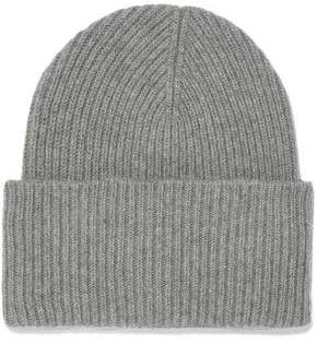 Iris & Ink Sandra Ribbed Wool And Cashmere-Blend Beanie
