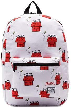 Herschel white Snoopy Skate Backpack