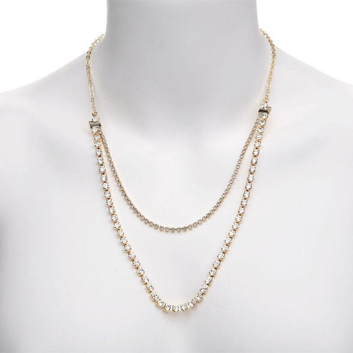 Rachel Leigh Lena Necklace, Gold 1 pair
