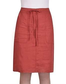 Jump Linen Skirt