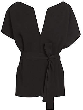 Givenchy Women's Belted Evening Top
