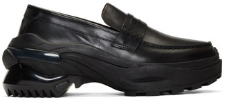 Maison Margiela Black Retro Fit Sole Loafers