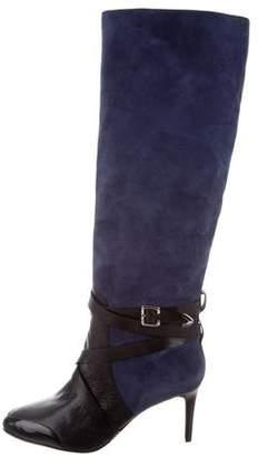 Rebecca Minkoff Suede Knee-High Boots
