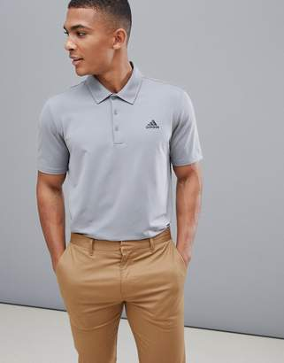adidas Ultimate 365 Polo In Grey