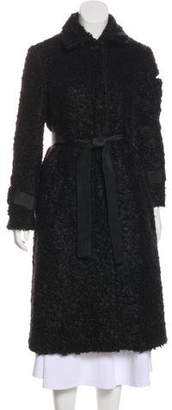 Creatures of the Wind Textured Belted Long Coat