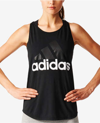 adidas Linear Logo ClimaLite Racerback Tank Top
