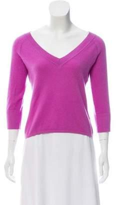Max Mara Cropped Cashmere Sweater