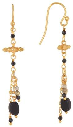 Chan Luu 18K Gold Plated Sterling Silver Mixed Stone Earrings