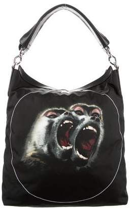 Givenchy Monkey Print Nightingale Satchel