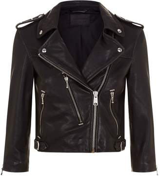 AllSaints Lara Leather Biker Jacket