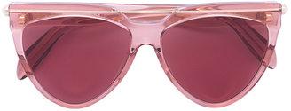 'Piercing Shield' frame sunglasses