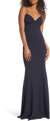 Katie May Luna Stretch Crepe Gown