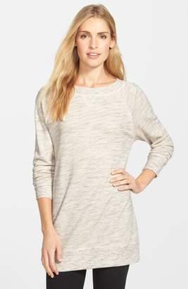 Caslon Space Dye Tunic Sweatshirt