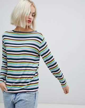 Pepe Jeans Gina stripe long sleeved t-shirt