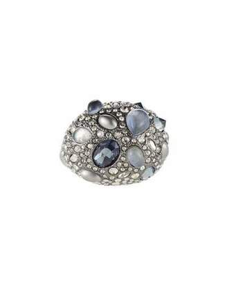 Alexis Bittar Stone Cluster Pave Cocktail Ring, Size 7
